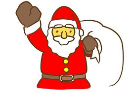 「サンタクロース 無料イラスト」の画像検索結果