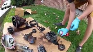 Project Merk #2 Mk3 Supra Diff (Cleaning) - YouTube
