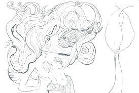 Free Printable Mermaid Coloring Pages Free Mermaid Coloring Pages
