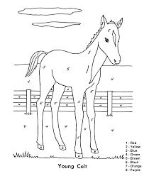Small Picture Number Coloring Worksheets For Kindergarten apritacom