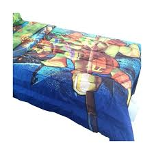 teenage mutant ninja turtles twin full bed comforter time to shell up bedding