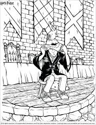 Harry Potter Coloring Pages Slytherin Dongdaome