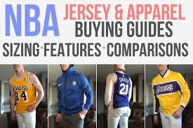 How Do Nba Jerseys Fit Our 2019 Size Guide W Pictures
