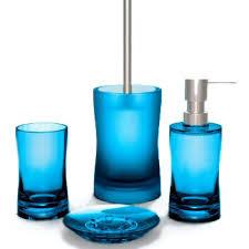 An Overview Of Blue Bathroom Accessories  Bath DecorsAqua Colored Bathroom Accessories