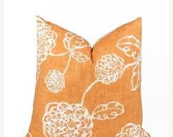 orange accent pillows. 15% Off Sale Orange Pillow , Cover, Throw Pillow, Decorative Accent Toss Pillows O