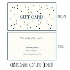 Printable Christmas Certificates Printable Gift Card Template Free Certificate Holiday Certificates