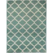 trellis teal 7 ft 10 in x 9 ft 10 in indoor