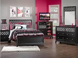 black bedroom furniture sets girls photo 1
