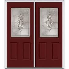 MMI Door 72 in. x 80 in. Heirloom Master Left-Hand Inswing 1/2-Lite ...