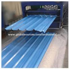 china middle east popular color coated corrugated galvanized steel roofing tile low top quality