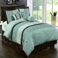blue bedding sets blue and brown bedding sets interior brown sets it is elegant bedding set