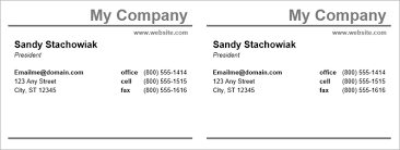 business cards templates microsoft word how to make free business cards in microsoft word with templates