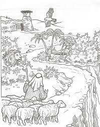 De Goede Herder Gaat Voorop Kleurplaat Kerst 2009