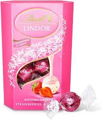 Lindt Lindor Strawberries & Cream 200g ...
