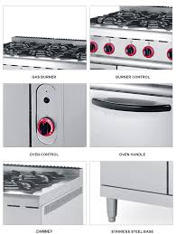 stove cheap. cheap and high quality gas range with burner oven industrial stove e
