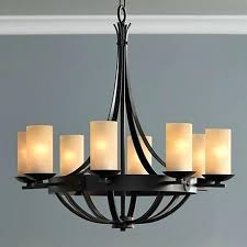 decoration smartness iron works chandelier bronze w glass rustic chic at its best this finish