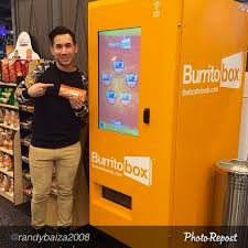 Burrito Vending Machine Fascinating Will This Vending Machine For Burritos Change The Business Of Fast Foo
