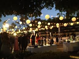 inspirations outside lights wedding decorations collection with
