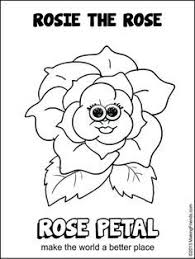 Small Picture girl scout daisy rosie the rose coloring pages Google Search