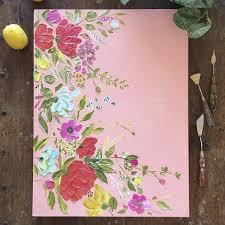 Best 25+ Paintings of flowers ideas on Pinterest | Acrylic painting flowers,  Paint flowers and Painting flowers