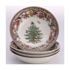 Spode Disney Christmas Tree Celebration At Replacements LtdSpode Christmas Tree Cereal Bowls