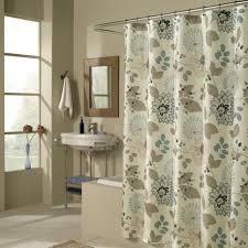 contemporary curtain modern curved shower rod bathroom designs