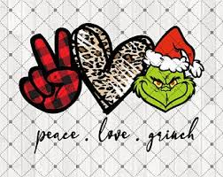 We love to see what you make! Peace Love Grinch Etsy