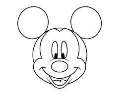 Mouse Coloring Page Mickey Mouse Paint Coloring Pages
