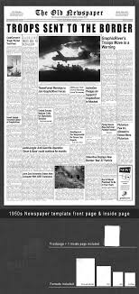 Newspaper Template For Photoshop Mac - April.onthemarch.co