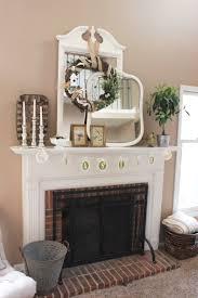 Living Room Mantel Decorating Spring Mantel Easter Decor Ideas For Decorating Your Mantel For