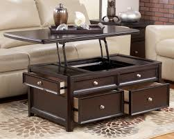 lift top coffee tables storage sauder carson forge table with the for best in washington