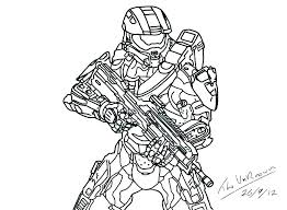 Halo Coloring Sheets Master Chief Pages Book And Lego Colo Anoukowin