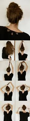 Hairstyles For School Step By Step 13 Pretty Simple Bun Hairstyles Tutorials For 2017 Pretty Designs