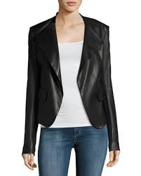 Black Leather Jacket | Neiman Marcus & Quick Look. Theory · Peplum Jacket Leather ... Adamdwight.com
