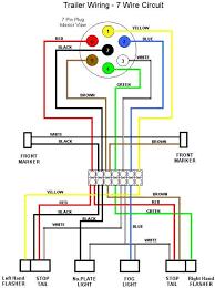 7 pin trailer plug wiring diagram diagram trailers caravan and plugs