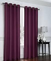 goodgram plum curtain panels set of two