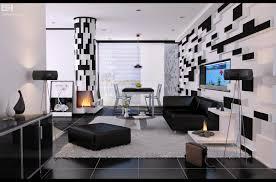 Modern Black And White Living Room Living Room Modern Black And White Living Room Apartment With