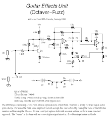 guitar effects wiring diagram guitar wiring diagrams guitar circuits and schematics fuzzi amps and other effects