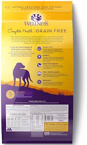 Wellness Grain Free Complete Health Adult Deboned Chicken Chicken Meal Recipe Dry Dog Food 4 Lb Bag