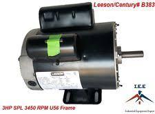 3 hp compressor motor new 3 hp 3450 rpm air compressor 60 hz electric motor 115 230 volts century