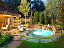 Small Pool Yard Design Above Ground Pools For Backyards