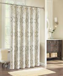 linen shower curtain extra long inspirational brown and tan shower regarding size 1650 x 1980