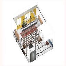 architectural house drawing. Courtesy Of Harsh Vardhan Jain Architectural House Drawing