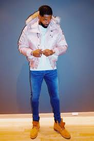 Tristan Thompson wears an OVO x Canada Goose jacket and Timberland boots