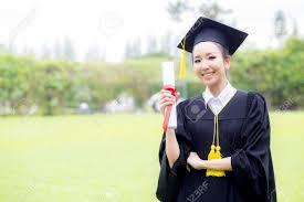 happy graduated student girl stock photo picture and royalty  happy graduated student girl stock photo 65984602