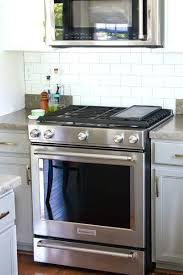 slide in stove standard dimensions gas installation n53