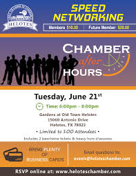 Speed Networking 01 Helotes Chamber Of Commerce