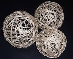Decorative Sphere Balls Make your own Decorative Twine Balls for Wedding or Home Decor 98