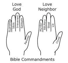 10 Commandments Coloring Pages Of 5 Ten 7 Futuramame