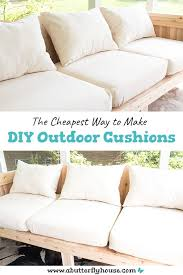 diy outdoor cushions diy